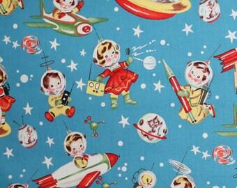 Fabric - Michael Miller - Retro rascals - medium weight woven cotton fabric.
