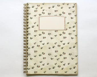 DIN A4 notebook - flock of birds