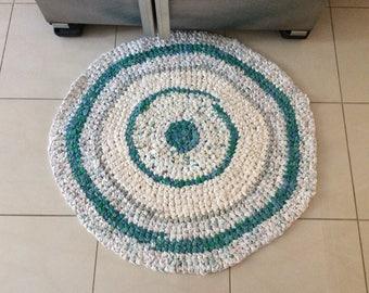 Hand made rag rugs