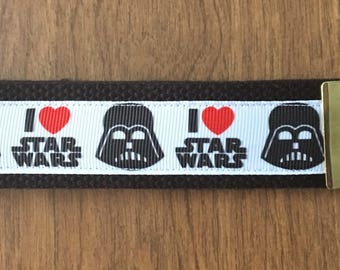 Star Wars Key Chain Zipper Pull Wristlet