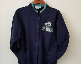 Vintage Faded Mouse Navy Sweater