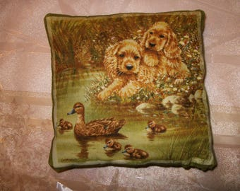 Small pillows dogs cokers 13 cm x 13 cm. NO. 2.