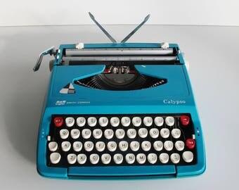 Typewriter - Smith Corona Calypso, fully working. Brand new ribbon. Made in England