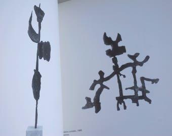 Sculptures Exhibition Catalogue Mirko 1992, metal sculptor, Italian modern art book