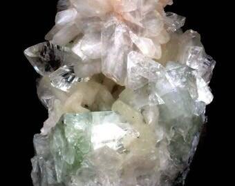 natural APOPHYLLITE HEULANDITE Minerals India #JA 215