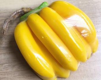 Banana Fruit Soap,Banana Scented,Banana Soap Favors,Bath Soap,Fruit Soap Fragrance Soap,Banana fruit favors