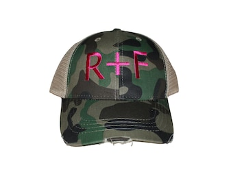 Rodan + Fields R+F Trucker Hat multiple colors available, distressed baseball cap