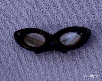 Vintage Barbie Black Glasses, Near Mint