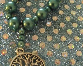 Tree of Life Rosary Prayer Beads  #38