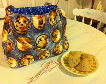 Blueberry Muffin Purse