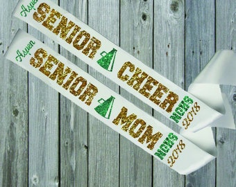 WHITE SASH Senior Mom