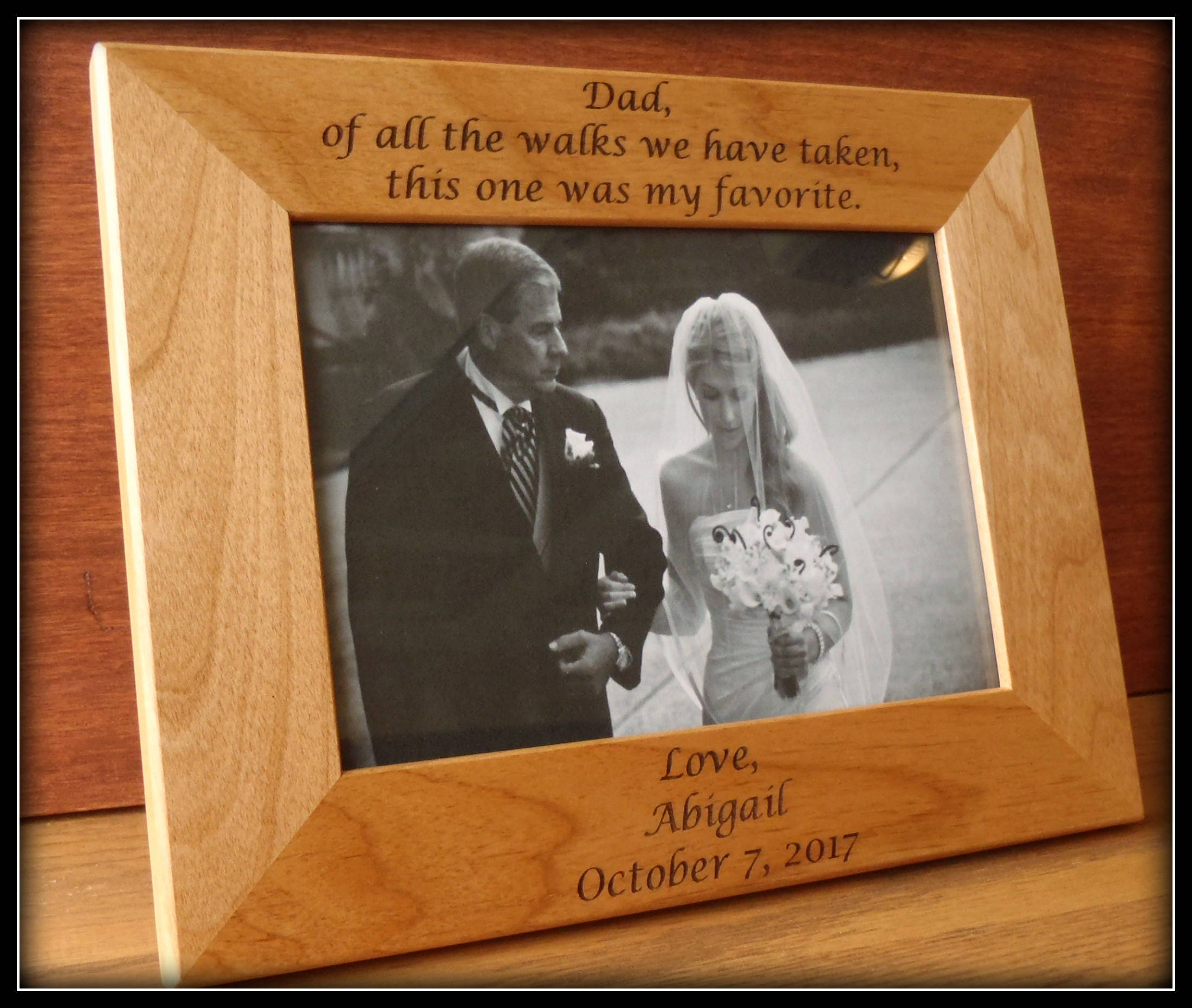 flower and ring bearer picture frames - 28 images - personalized ...