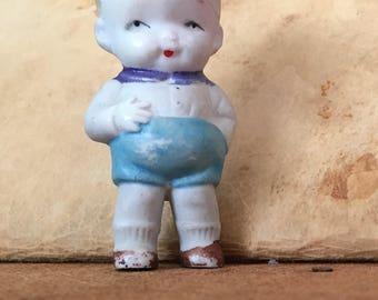 Bisque HEB boy doll Japan