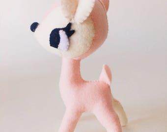 Kawaii felt deer
