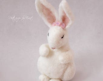 felted bunny newborn stuff photo props photography props