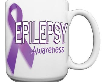 Epilepsy Awareness Large 15 oz. Coffee Mug