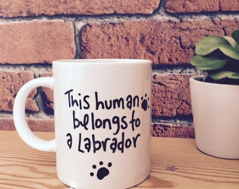 Dog mug, fathers day gift, birthday gift, funny mug, father's mug, from the dog, funny gift, gift for him, cup, dog lover, gift for her, mum