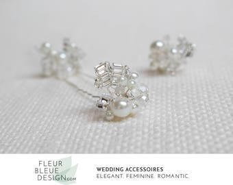 bridal accessory | crystal hairpin set | wedding hair pins | bridal hair accessoires | hair accessory | bridal accessory | bridal pins