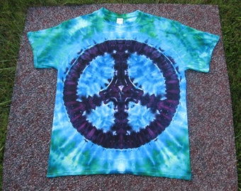 tie dye shirt, peace sign, Grateful Dead, tie dye
