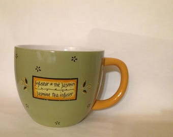 Large Tea Cup - Decorative Kitchen - Jasmine Tea - Shop Display - Store Display - Advertising