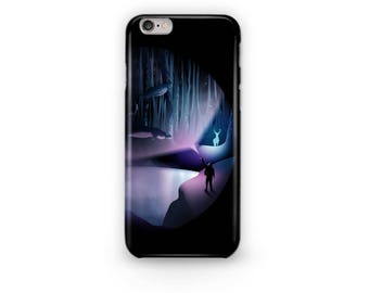 Expecto Patronum Phone Case Design from the Harry Potter Universe where Harry Fights off the Dementors Away from the Prisoner of Azkaban