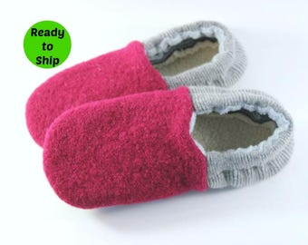 Easter Gift for Girls- Kids Wool Slippers- Gift for Little Girl- Daughter Gifts- Girls Pajamas- Cozy Gifts- Girls Slippers- Birthday Gift