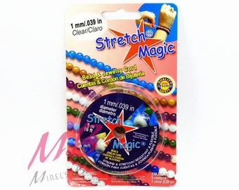 1mm Stretch Magic Clear Beading Cord, 5 Meters