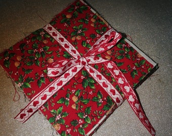 Christmas fabric bundle