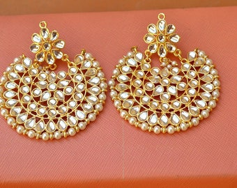 Kundan  Earrings/Drop Earrings/Indian Earrings/