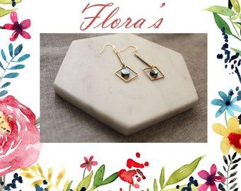 Bronze 925 Silver Dangle & Drop Earrings