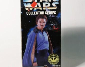 "New 1996 Star Wars Collector Series Lando Calrissian Figure 12"" kenner Doll"