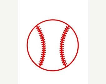 20% OFF Baseball Vinyl decal - Baseball car decal - Baseball tumbler decal