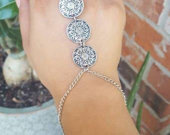 Boho Hand Chain Bracelet