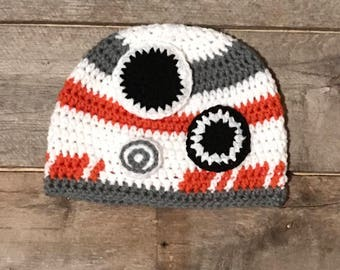 BB8 hat; Star Wars hat; robot hat