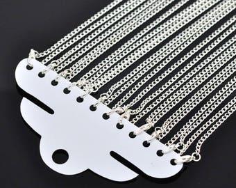 "12 necklace 46cm (18 "") or 78cm (30"") mesh 2x3mm"