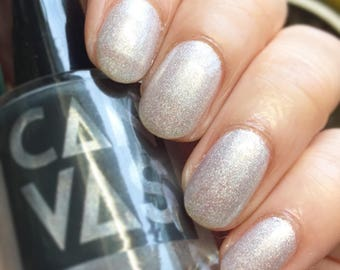 Winter Is Coming by CANVAS lacquer - a shimmering white