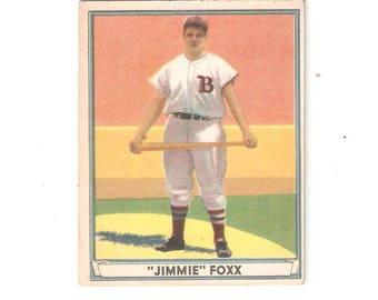 1941 Play Ball Jimmy Foxx VG-EX