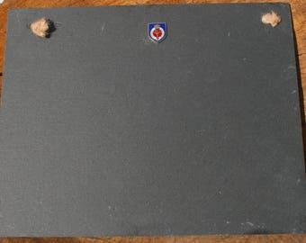 Welsh Guards Shield Slate Chalk Board Messages, Lists , Tally Chart, Reminders Military Gift ME15