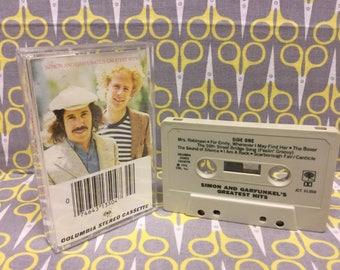 Simon and Garfunkels Greatest Hits by Simon and Garfunkel Cassette Tape rock