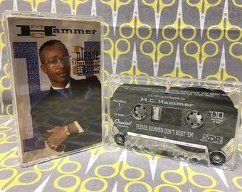 Please Hammer Don't Hurt Em by MC Hammer Cassette Tape rap hip hop
