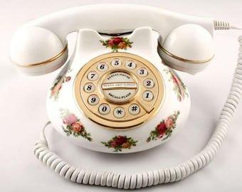 Royal Albert Original Antique Telephone by .