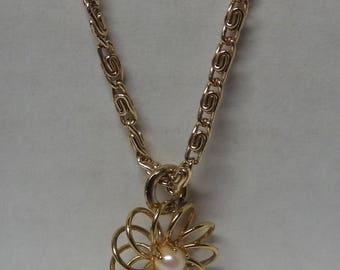 Made in Germany Gold Plated Necklace and Charm