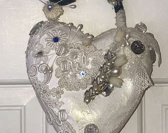 HEAVENLY...a beautiful handmade heart that you will love!