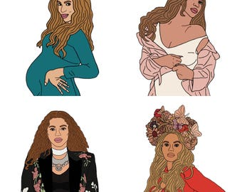 Beyoncé Baby Shower Set