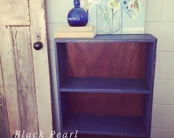 Painted shelf