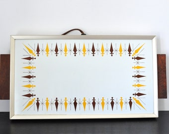 Vintage Atomic Warming Tray, Cornwall Products, Electric Hot Plate, Diamond Pattern, Mid Century Modern