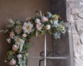 Floral Arch, Wedding Arch Flowers, Silk Flower Arch, Silk arch, Wedding Decor Arch, Wedding arch,