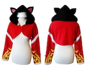 League of Legends champion Ari inspired cosplay costume hoodie (shrug style), lol gamer, game cosplay, halloween costume, faun ,cat, fox