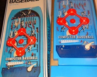 1970 Computer Baseball Game by Epoch. Mint Works Great