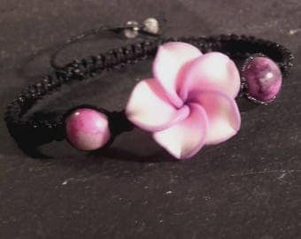 Bracelet Pink Pearl synthetic